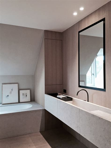 Modern Bathroom Ca by Vola Taps And Showers In Black Bathroom Interior Design