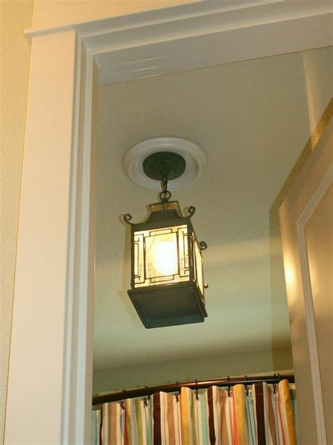 replacing can lights with pendant lights replace recessed light with a pendant fixture hgtv