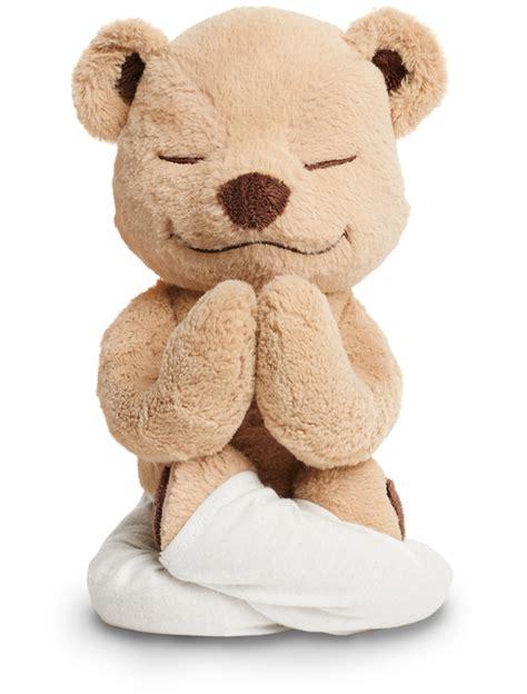 Sitting At Desk by Kids Yoga Mindfulness And Meditation Teddy Bear Teach