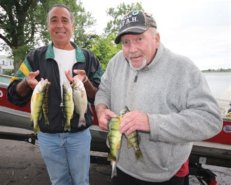 Lake Erie Boat Launch Near Me by Niagara River On Perch Fishing Canadian Sportfishing