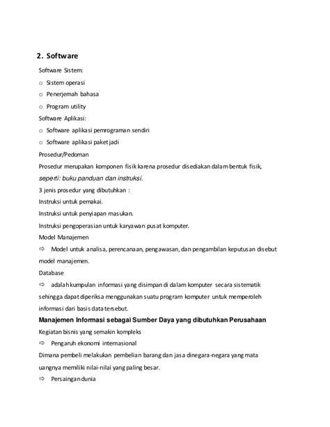 Makalah Sistem informasi manajemen (gambaran umum sim )