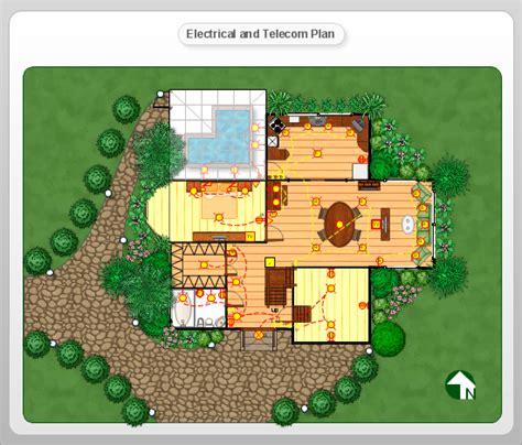 Conceptdraw Samples Floor Plan Landscape Design