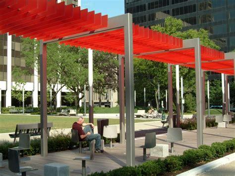 form perk park cleveland  pergolas canopy