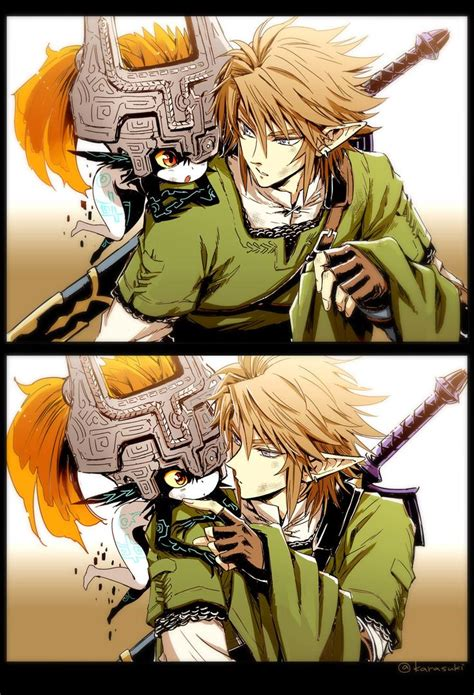 Link And Midna I Ship It Though Ive Always Envisioned