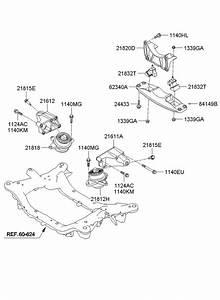 Hyundai Genesis Insulator - Hydraulic Right   Right Hand