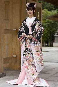 Moderne Japanische Kleidung : traditional japanese kimono female the style of this particular kimono gives quite a regal ~ Orissabook.com Haus und Dekorationen