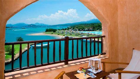 top   luxury hotels  private beach  costa smeralda