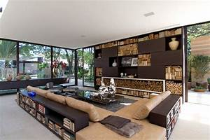 Modern home interior brazil most beautiful houses in the for Most beautiful house interiors in the world