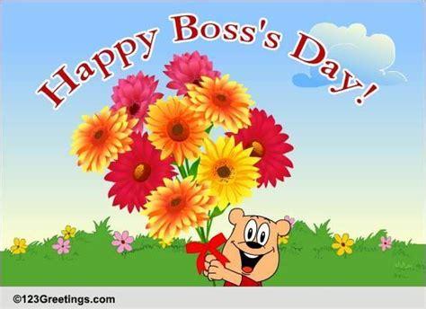 cute  warm   bosss day  happy bosss day ecards