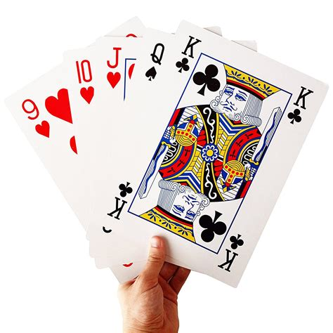 Maybe you would like to learn more about one of these? Gigantic Deck of Playing Cards - The Green Head