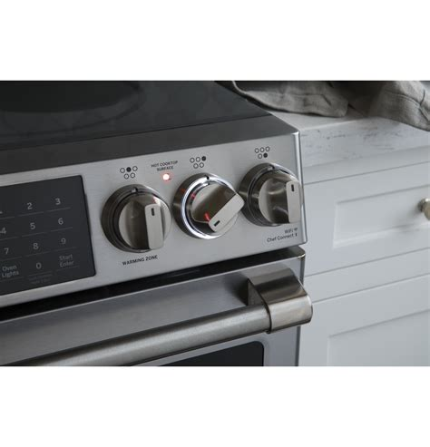 ge cafe chsselss series    front control induction  convection range