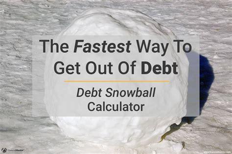 debt snowball calculator pays  debt easy  computes