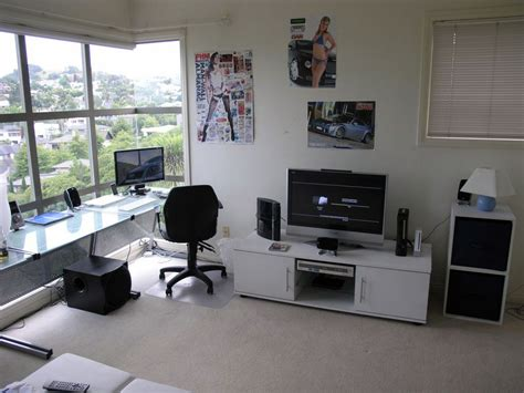 Comfortable Computer Room Ideas At Home Simple Stylish