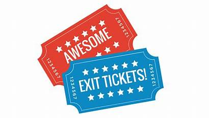 Exit Ticket Clipart Tickets Awesome Breakouts Albert
