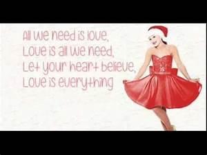 Love is Everything - Ariana Grande (with lyrics) - YouTube