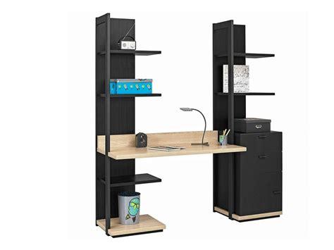 bureau avec etageres bureau avec etagere