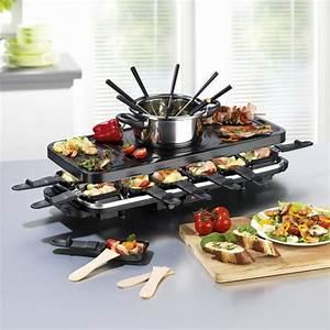 Raclette Und Fondue Set : gourmetmaxx raclette und fondue set ~ Michelbontemps.com Haus und Dekorationen
