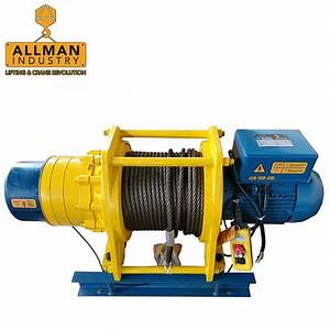China 750kg Electric Cable Winch Suppliers And