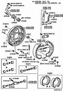 Rear Drum Brake Wheel Cylinder  U0026 Backing Plate For 2001