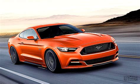 best ford mustang ford mustang orange colors hd best background wallpaper