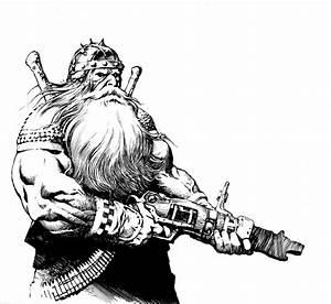 Dwarven Sniper Sketch By Anghorkheng On DeviantArt