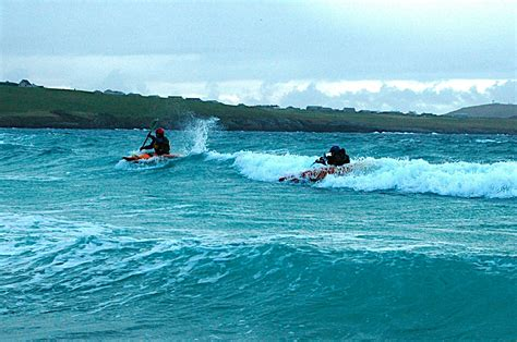 Canoes Surf by Surf Quendale 171 Shetland Canoe Club