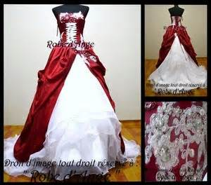 robe de mariã e miss white and gold robe blanche et bordeau