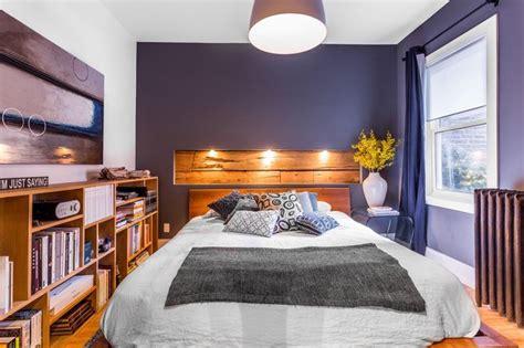 couleur de chambre parentale la photo du jour une niche en bois comme tête de lit