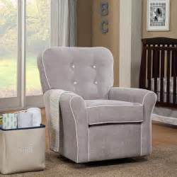 recliner rocker for nursery canada reclining glider brown grey swivel nursery