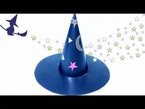 Hut Aus Papier : halloween diy basteln dekoration party deko mit kindern ideen hut hexe kost m zubeh r aus ~ Watch28wear.com Haus und Dekorationen