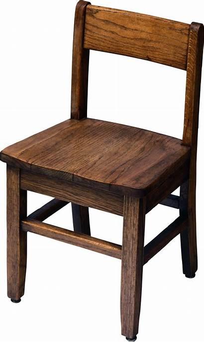 Chair Transparent Background Clipart Wooden Cartoon Furniture