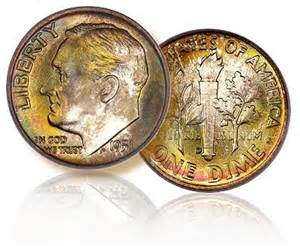 Rare Roosevelt Dimes Valuable