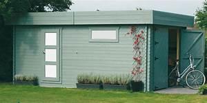 Abri De Jardin Metal 20m2 : abris de jardin toit plat cabane de jardin toit plat petit ~ Melissatoandfro.com Idées de Décoration