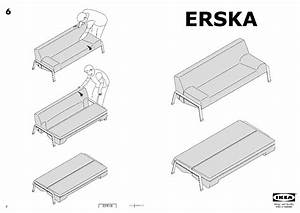 erska sofa bed skiftebo orange ikea united states With erska sofa bed