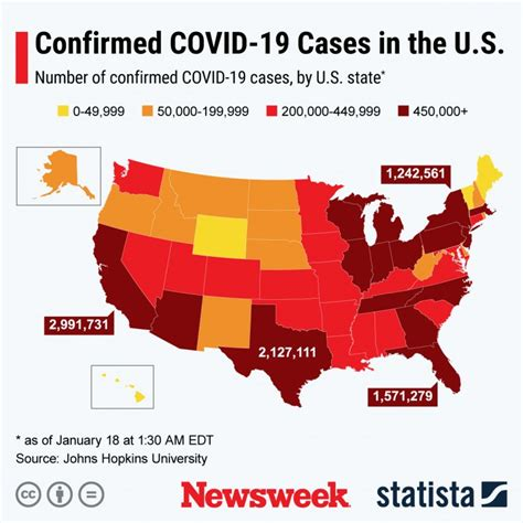 One Year Since First U.S. COVID Case, Infections Are ...