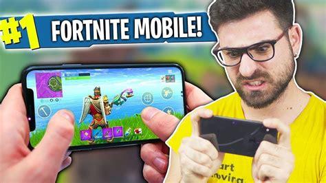 fortnite mobile su iphone  doovi