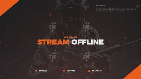 Twitch Offline Banner Template Size by Twitch Offline Banner Templates Offline Screens For Your