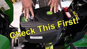 Riding Mower Surging    Misfire Easy Fix