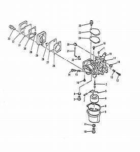 Mariner 9 9c Hp Carburetor    Fuel Pump