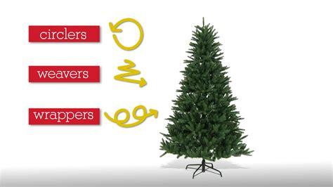 correct way to string lights on christmas tree how to light a christmas tree youtube