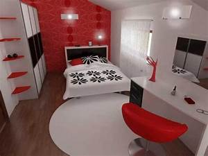Red and black bedroom paint ideas bedroom ideas pictures for Black and red bedroom ideas