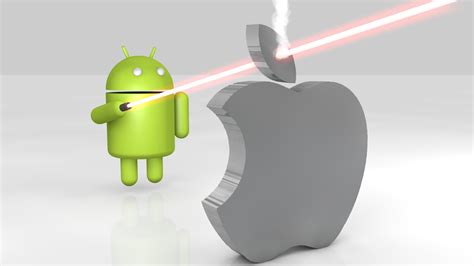 apple on android android vs apple hd wallpaper 1372 wallpaper computer