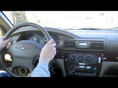 test drive  chrysler sebring lx  short  youtube