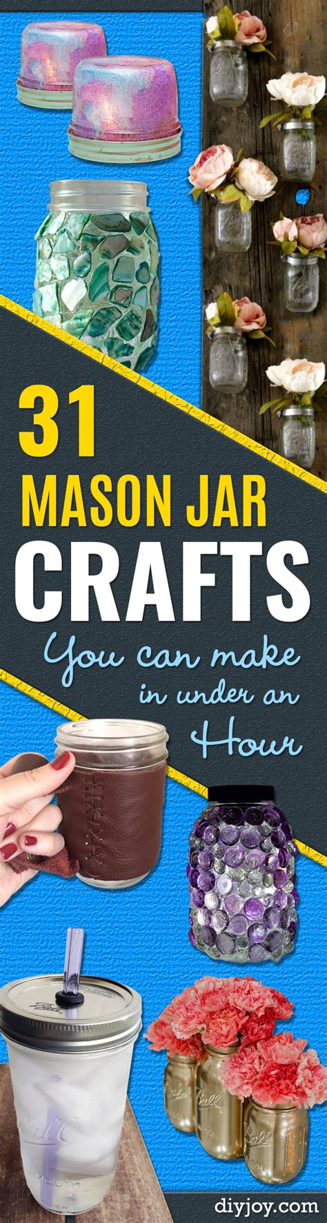mason jar crafts       hour