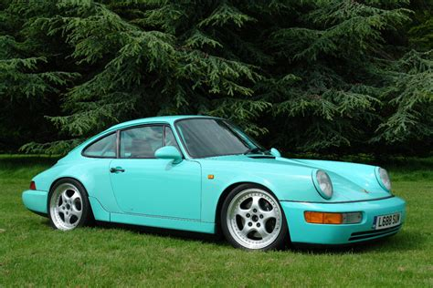 porsche mint green ruby stone when was this color introduced how rare