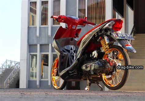 Beat Merah Kontes by 50 Foto Gambar Modifikasi Beat Kontes Racing Jari