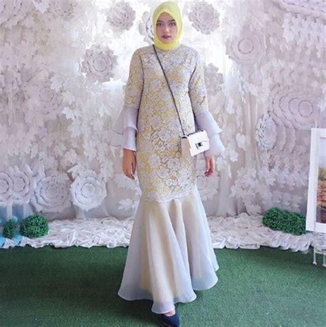 baju gaun pesta 35 model gaun pesta muslim modern elegan terbaru 2018