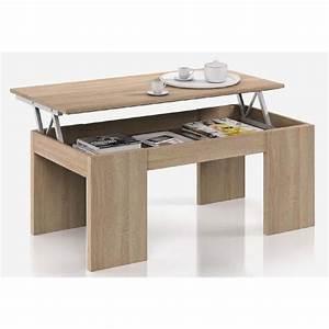 Table Basse Relevable Fly : relevable mirage extensible escamotable idelma table but ~ Teatrodelosmanantiales.com Idées de Décoration