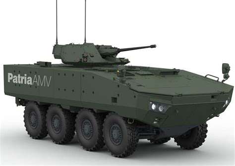 The Finns from Patria want to produce Patria AMV in