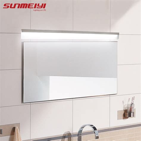 modern led mirror light waterproof wall lamp fixture ac